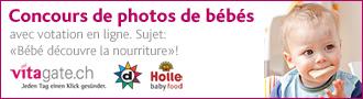 Concours de photos de bébés